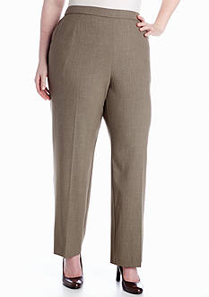 Kim Rogers elPlus Size Comfort Waist Pull On Pant (Average and Short)