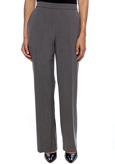 Kim Rogers® Petite Pull-On Career Pant (Short & Average)