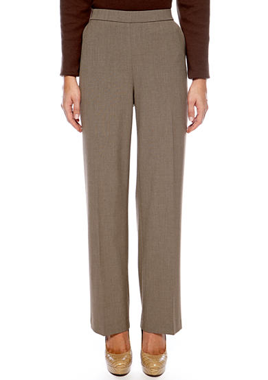 Kim Rogers® Petite Pull-On Career Pants (Short & Average)