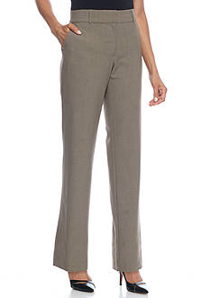 Kim Rogers Flat Front Dress Pants