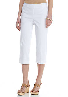 Kim Rogers Super Stretch Woven Capri