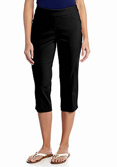 Kim Rogers® Solid Super Stretch Capri