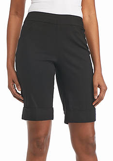 Kim Rogers® Super Stretch Bermuda Shorts