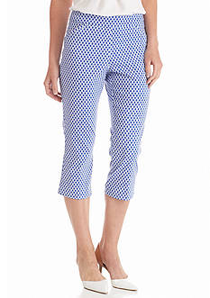 Kim Rogers® Printed Super Stretch Capris