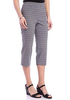 Kim Rogers Capri Print Pants