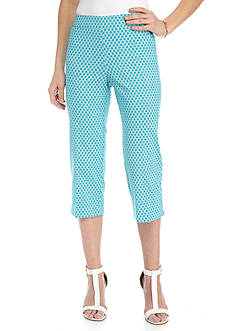 Kim Rogers® Super Stretch Woven Capris