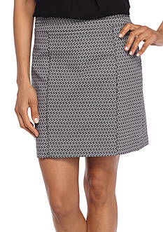 Kim Rogers Super Stretch Patterned Skort