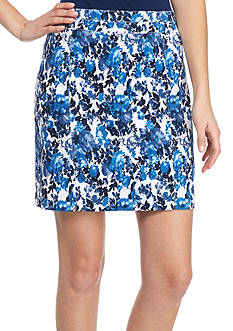 Kim Rogers Super Stretch Floral Skort