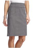 Kim Rogers® Super Stretch Print Skirt