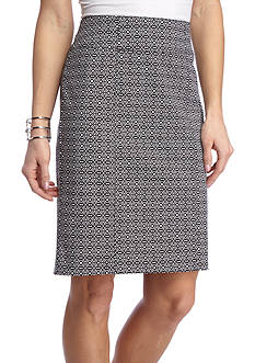 Kim Rogers Super Stretch Print Skirt