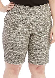 Kim Rogers Plus Size Millen Shorts