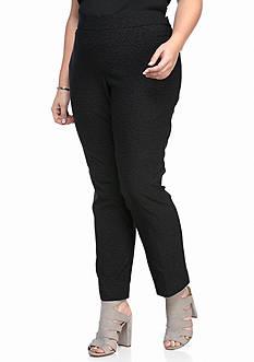 Kim Rogers Plus Size Cheetah Millenium Short Pants