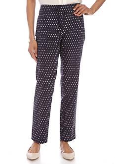 Kim Rogers Super Stretch Printed Pants