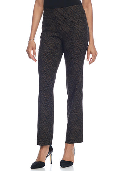 Kim Rogers® Super Stretch Pull On Pant with Front Pockets