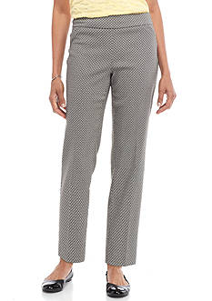 Kim Rogers Pull On Print Ankle Pant