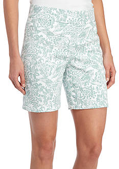 Kim Rogers Cotton Floral Short