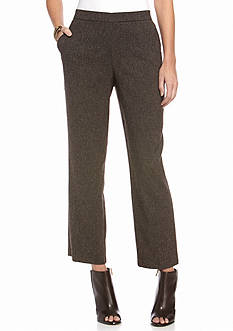 Kim Rogers Petite Tweed Pull-On Pants