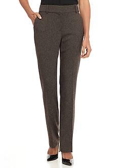 Kim Rogers Perfect Fit No Gap Tweed Pants