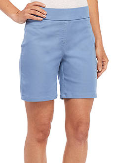 Kim Rogers Super Stretch Cotton Solid Shorts
