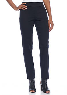 Kim Rogers Petite Size Stretch Twill Pants - Petite Short