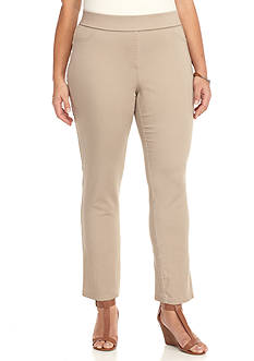 Kim Rogers® Stretch Twill Ankle Pants