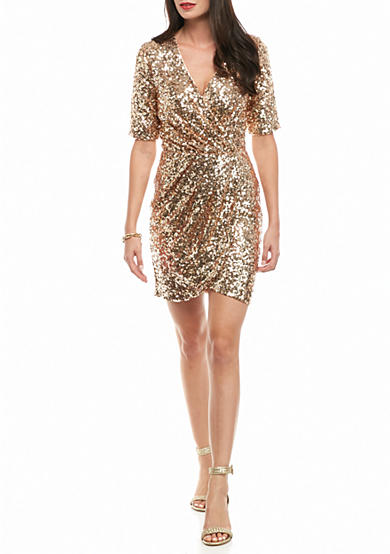 French Connection Lunar Sparkle Dress