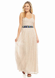 French Connection Bacongo Dot Maxi Dress