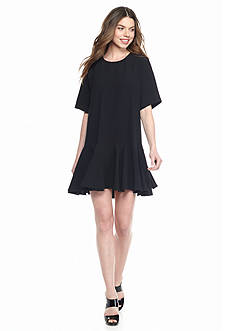 French Connection Arrow Crepe Oversized Dress