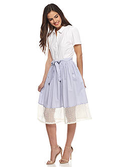 French Connection Kyra Cotton Shirtdress