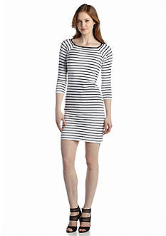 French Connection Tim Tim Stripe Dress