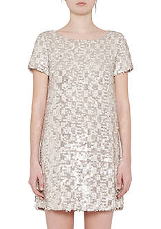 French Connection Snow Sequin Dress