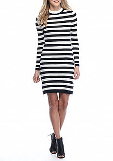 French Connection Sydney Knit Stripe Dress