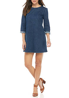 French Connection Denim Tee Dress