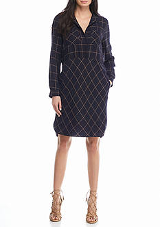 French Connection Fast Darla Check Dress