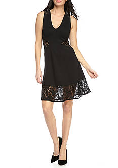 French Connection Tatlin Beau Jersey Dress