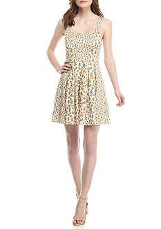 French Connection Niko Stretch Floral Dress