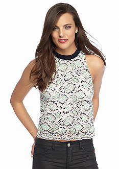 French Connection Boccara Lace Tank