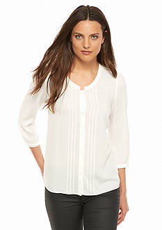 French Connection Empire Dot Blouse