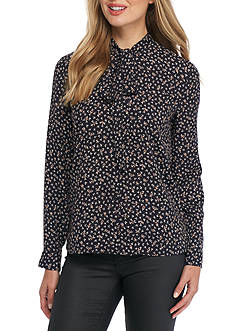 French Connection Falaise Fleur Blouse