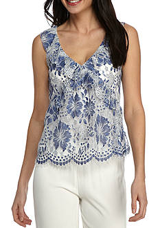 French Connection Antonia Lace Top