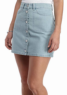 French Connection Mia Denim Mini Skirt