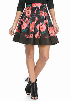 French Connection Allegro Poppy Satin Skirt