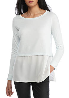French Connection Lerato Loose Jersey Top