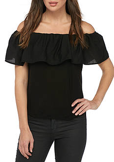 French Connection Summer Crepe Light Top
