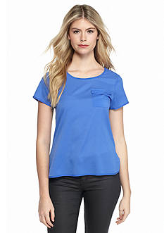 French Connection Polly Plains Top