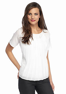 French Connection Polly Pleats Top