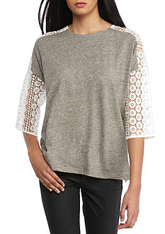 French Connection Dune Lace Top