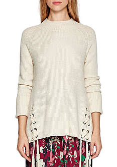 French Connection Freedom Lace-Up Sweater