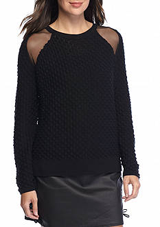 French Connection Ella Mesh Sweater