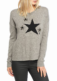 French Connection Lucky Star Knit Sweater